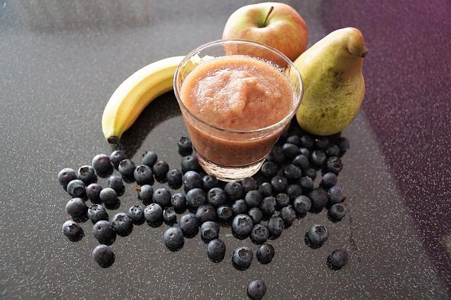ovocné pyré