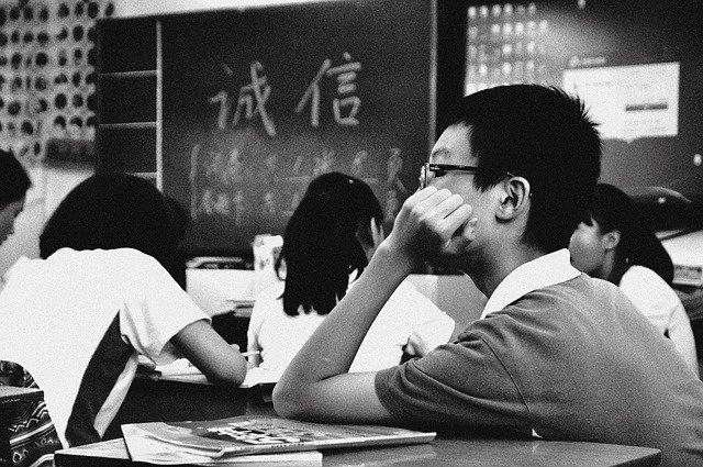 Znuděný student